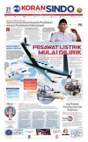 Koran Sindo Cover 23 June 2019