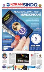 Koran Sindo Cover 24 June 2019