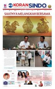 Cover Koran Sindo 14 Juli 2019