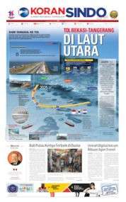 Cover Koran Sindo 17 Juli 2019