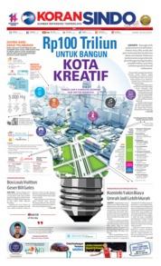 Cover Koran Sindo 18 Juli 2019