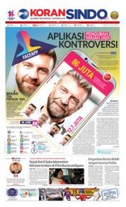Koran Sindo Cover 20 July 2019