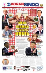 Cover Koran Sindo 21 Juli 2019