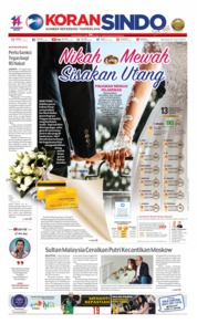 Koran Sindo Cover 23 July 2019