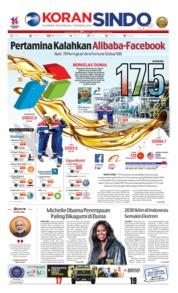 Cover Koran Sindo 24 Juli 2019