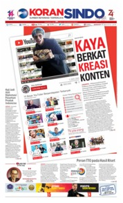Koran Sindo Cover 25 August 2019
