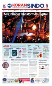 Cover Koran Sindo 26 Agustus 2019