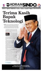 Cover Koran Sindo 12 September 2019