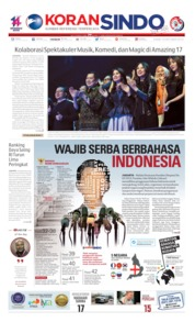 Koran Sindo Cover 10 October 2019