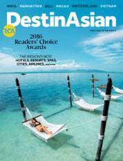 Cover Majalah DestinAsian Februari–Maret 2016