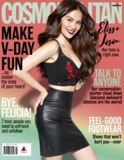 Cover Majalah Cosmopolitan Philippines Februari 2018