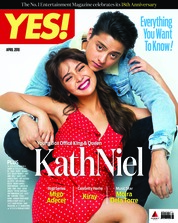 Cover Majalah YES! Philippines April 2018