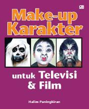Cover Make-up Karakter untuk Televisi dan Film oleh