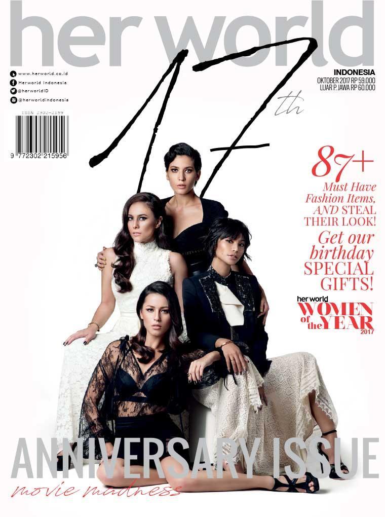 Majalah Digital her world Indonesia Oktober 2017