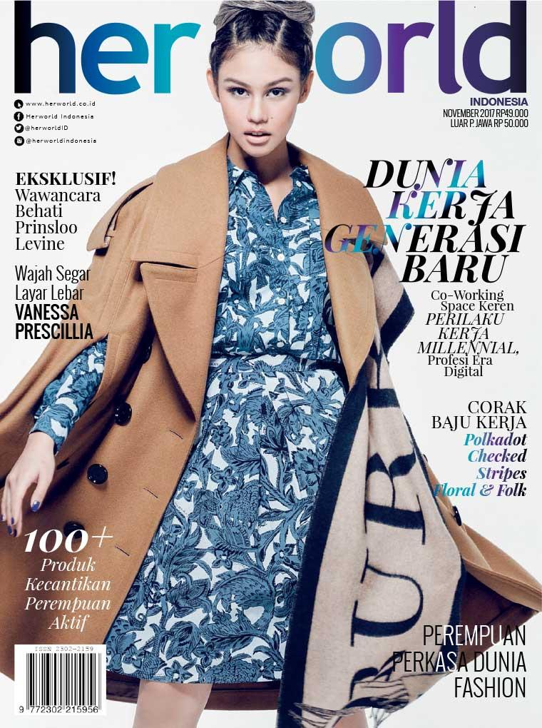 Her world Indonesia Digital Magazine November 2017