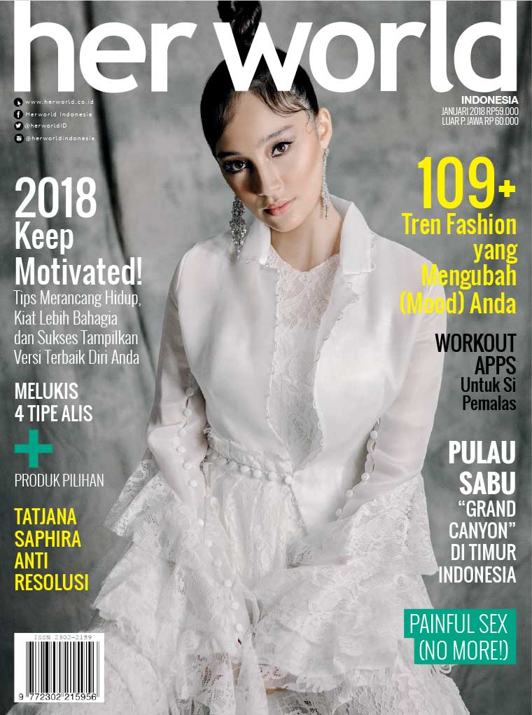Her world Indonesia Digital Magazine January 2018
