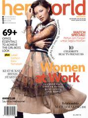 Her world Indonesia Magazine Cover November 2016