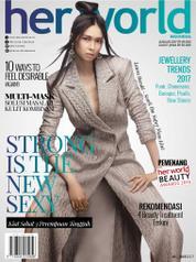 Her world Indonesia Magazine Cover January 2017