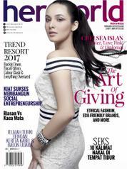 Her world Indonesia Magazine Cover February 2017