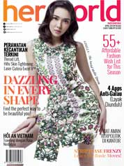 Her world Indonesia Magazine Cover April 2017