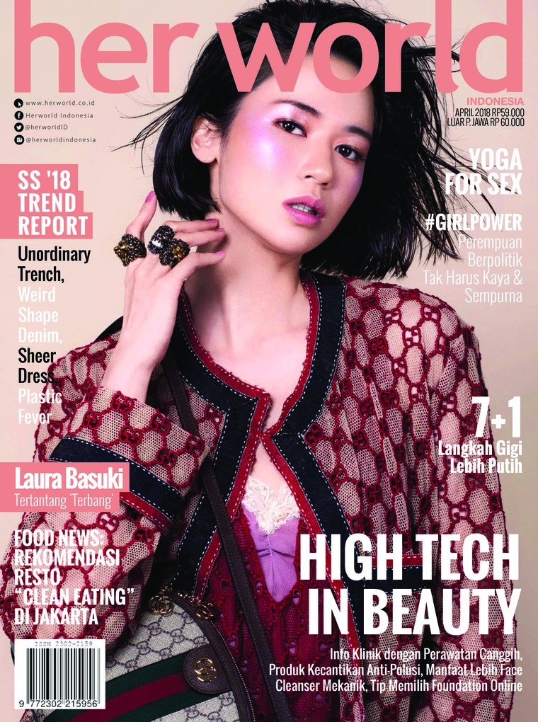 Majalah Digital her world Indonesia April 2018