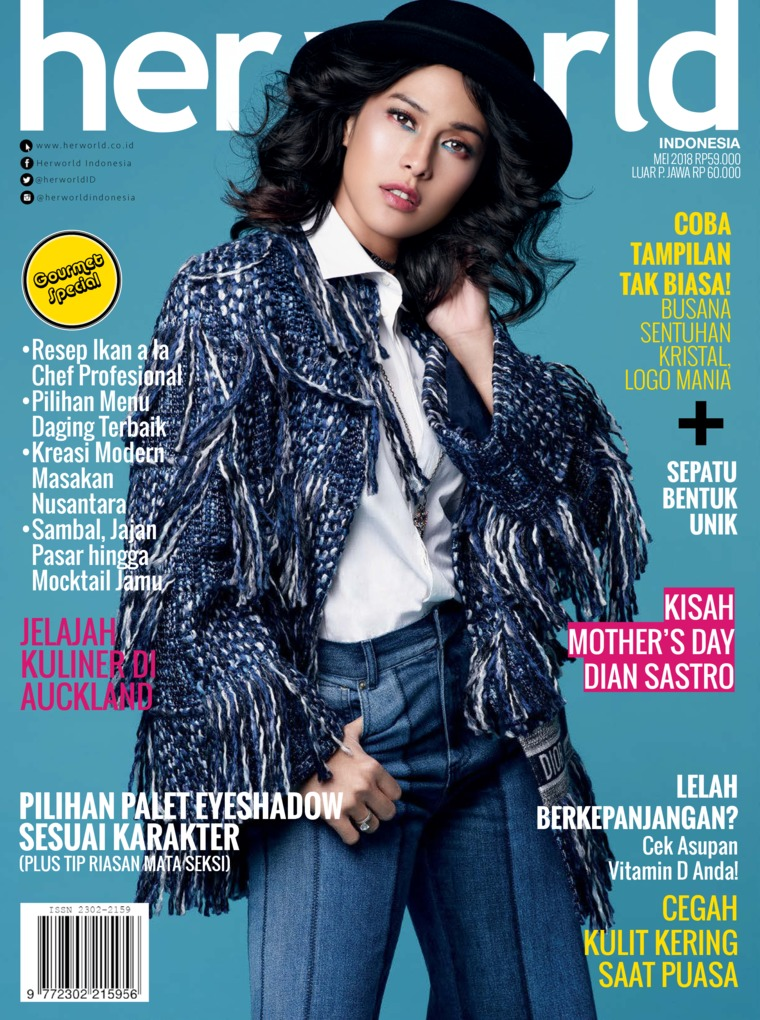 Her world Indonesia Digital Magazine May 2018