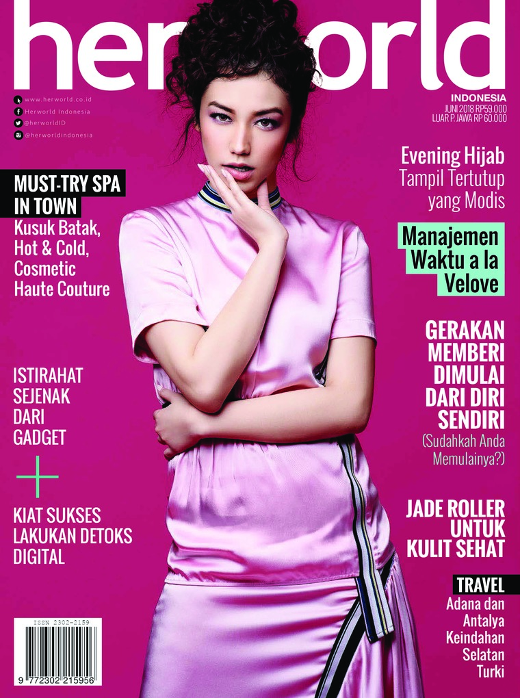 Majalah Digital her world Indonesia Juni 2018