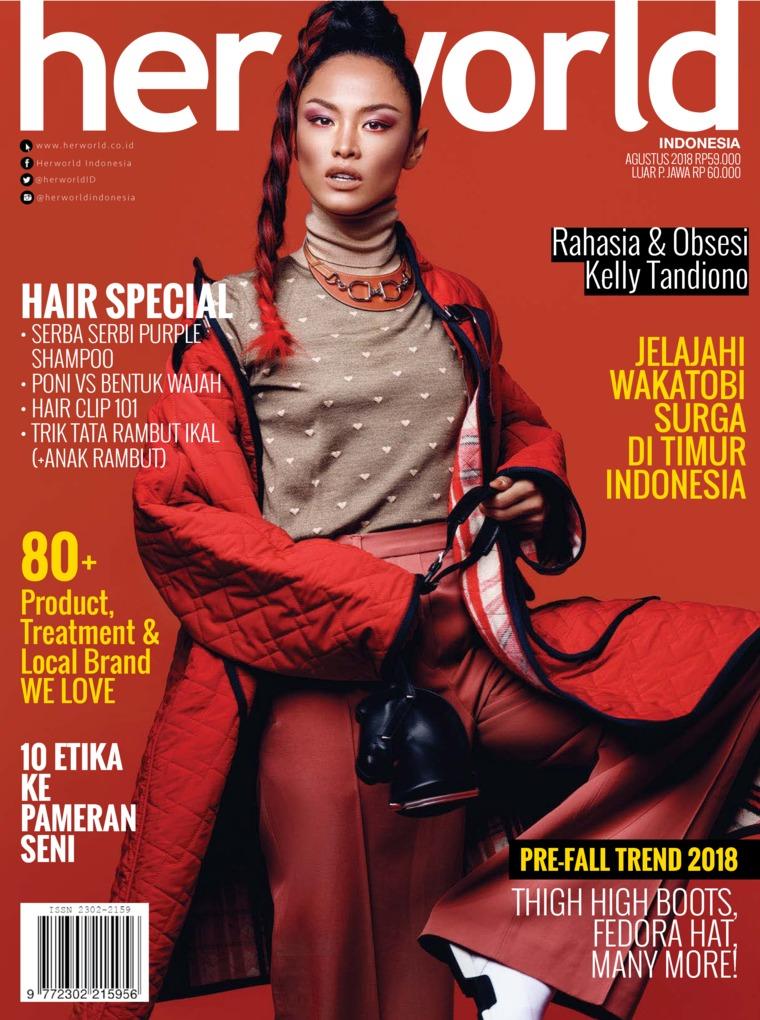 Her world Indonesia Digital Magazine August 2018