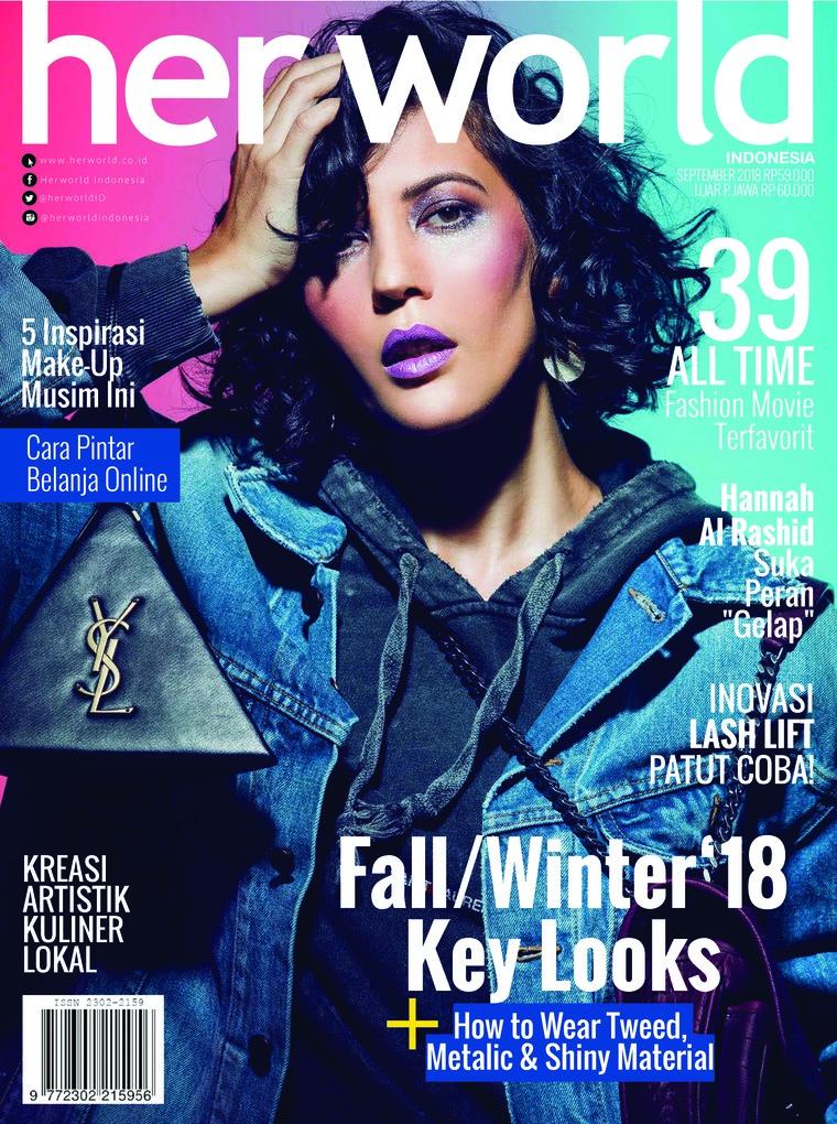 Her world Indonesia Digital Magazine September 2018