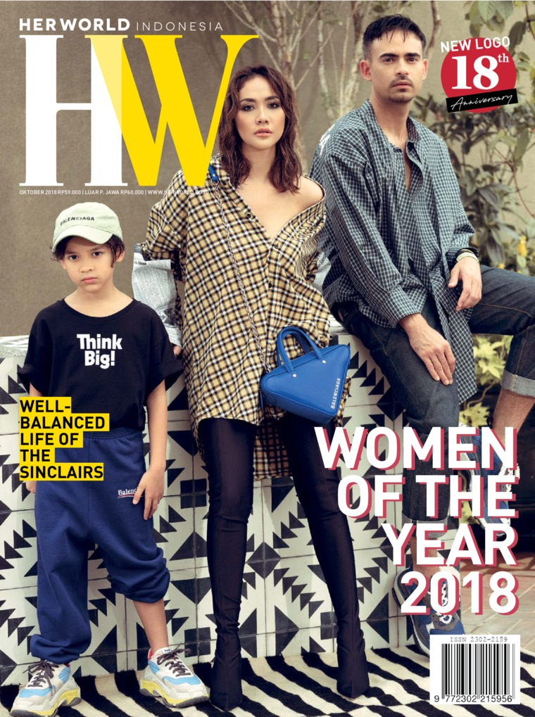 Majalah Digital her world Indonesia Oktober 2018