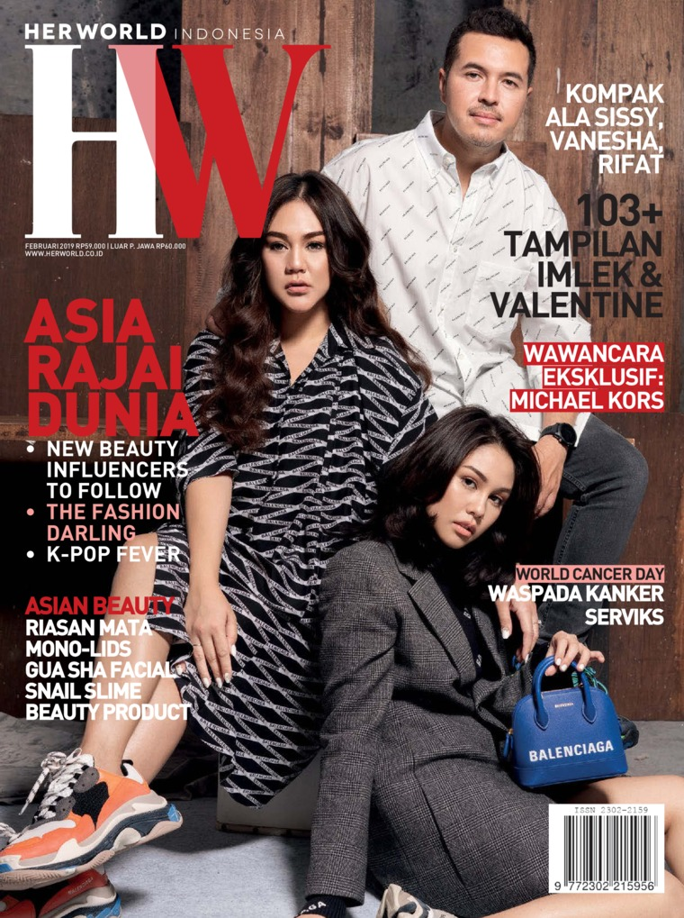 Majalah Digital her world Indonesia Februari 2019
