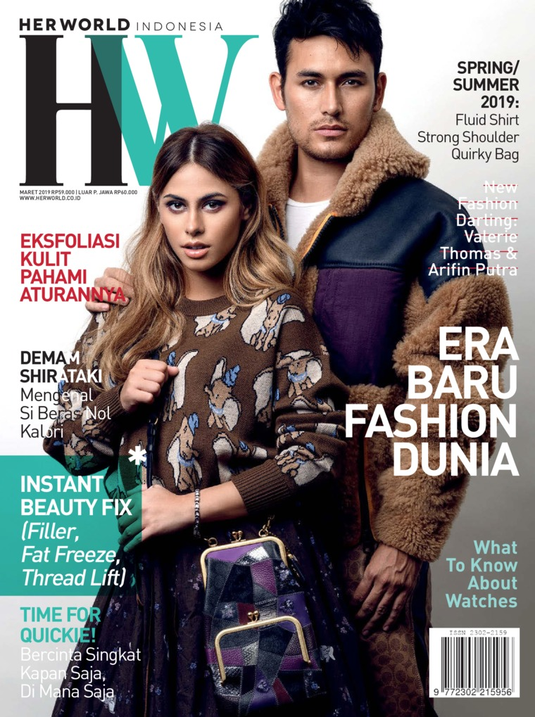 Her world Indonesia Digital Magazine March 2019
