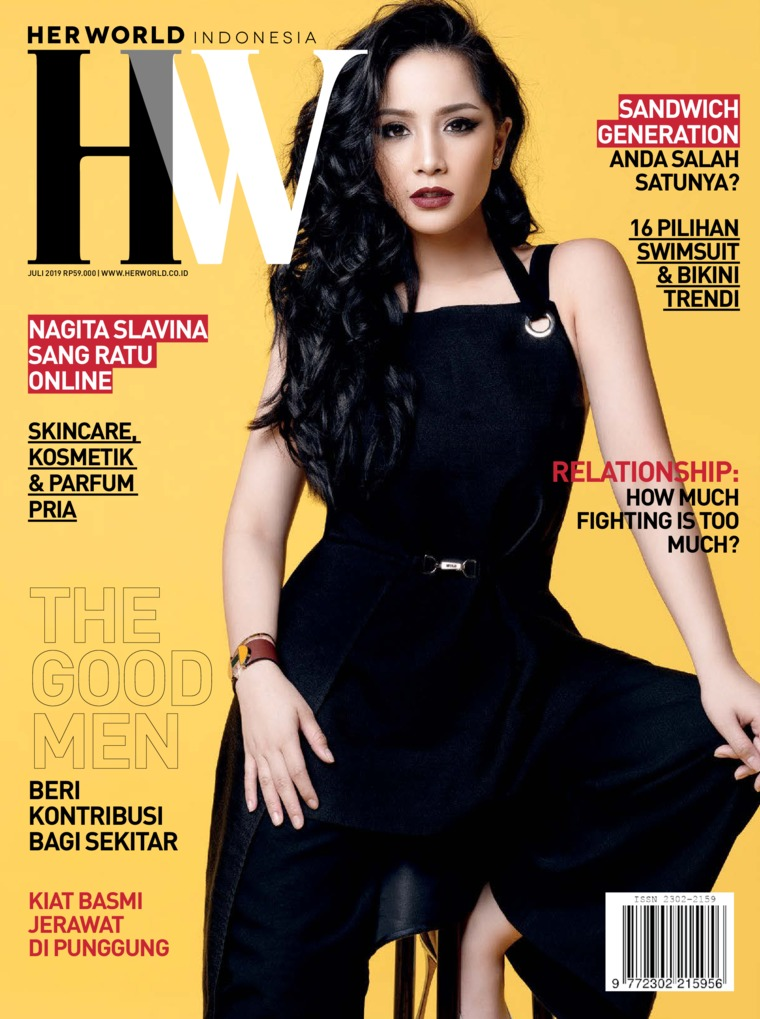 Majalah Digital her world Indonesia Juli 2019