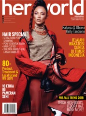 Her world Indonesia Magazine Cover August 2018