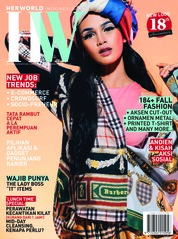 Her world Indonesia Magazine Cover November 2018