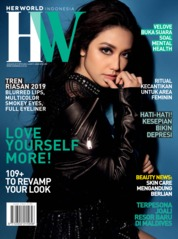 Cover Majalah her world Indonesia Januari 2019
