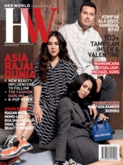 Cover Majalah her world Indonesia Februari 2019