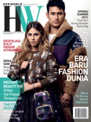 Her world Indonesia Magazine Cover March 2019