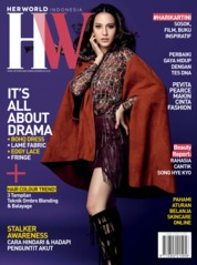 Her world Indonesia Magazine Cover April 2019
