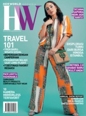 Cover Majalah her world Indonesia Mei 2019