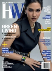 Cover Majalah her world Indonesia Juni 2019