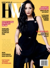 Her world Indonesia Magazine Cover July 2019