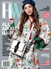 Her world Indonesia Magazine Cover August 2019