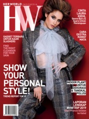 Cover Majalah her world Indonesia September 2019