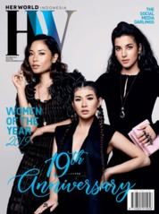 Cover Majalah her world Indonesia Oktober 2019