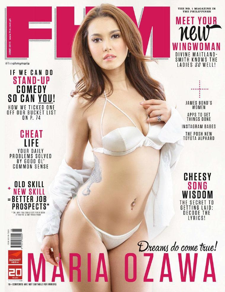 FHM Philippines Magazine June 2015