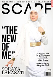 Cover Majalah SCARF INDONESIA ED 04 2013