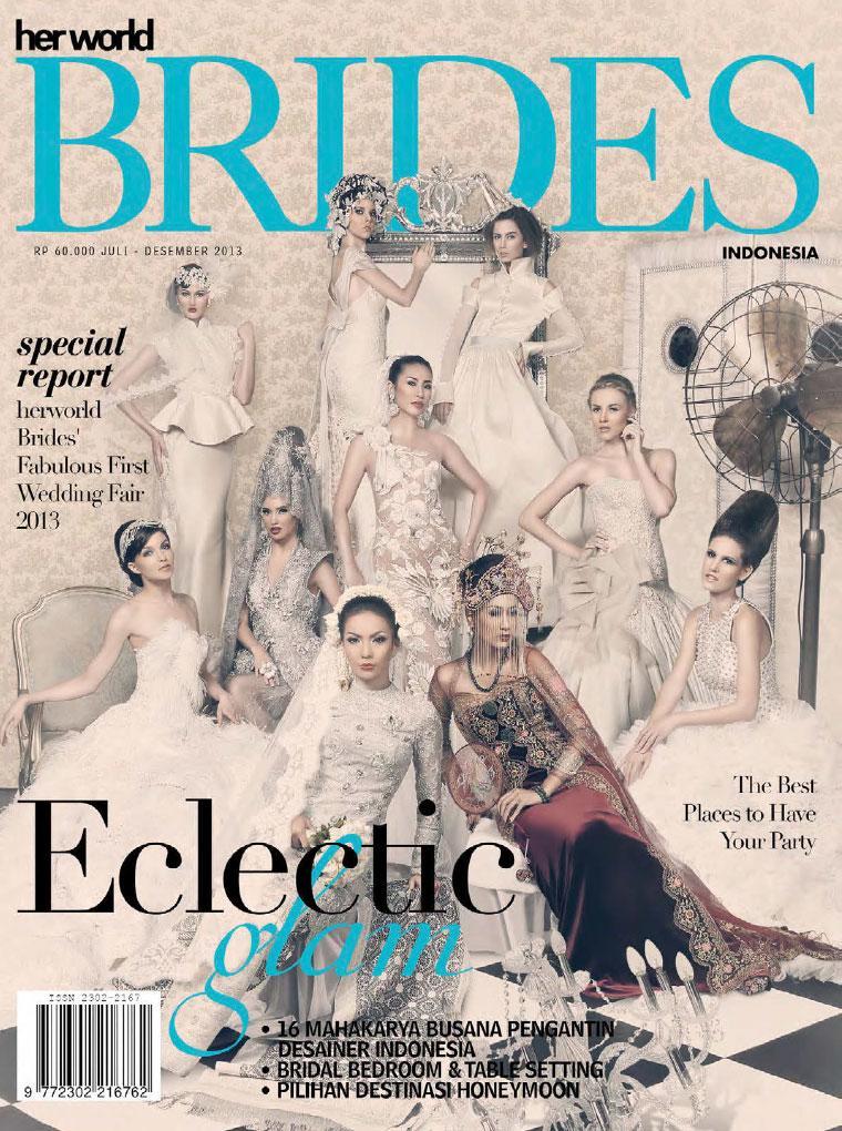 Her world BRIDES Indonesia Digital Magazine July–December 2013