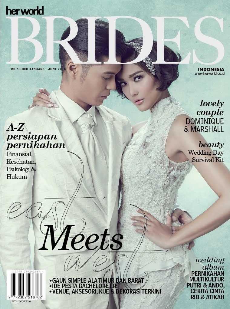 Her world BRIDES Indonesia Digital Magazine January–June 2014