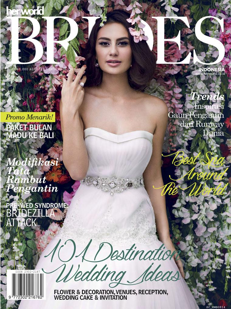 Her world BRIDES Indonesia Digital Magazine August–December 2014